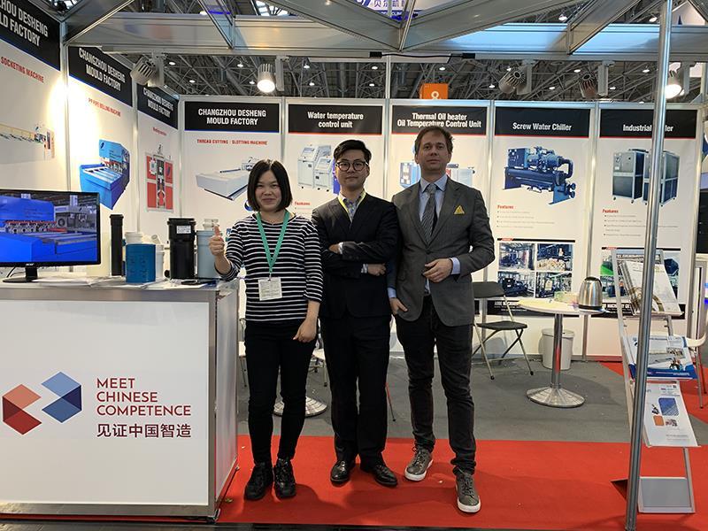 Changzhou Desheng Mould Factory achieved great success in 2019 K show!